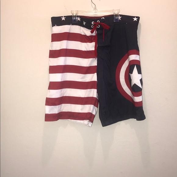 Marvel Other - Marvel men's swim trunks. XL